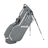Ping Hoofer Stand Bag Heather Grey White