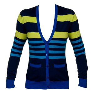 Ralph Lauren Bonnie Stripe Cardigan
