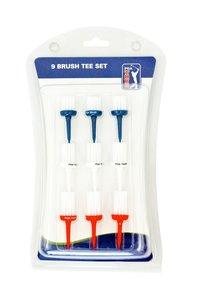 PGA Tour 9 Brush Tees