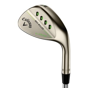 Callaway Mack Daddy 3 Milled Gold Nickel Wedge