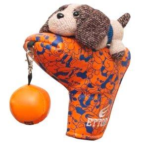 Volvik Ettori Putter Cover T-Shape - Mani Orange