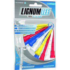 Lignum Tees 72 Mm Bag 12 Pcs