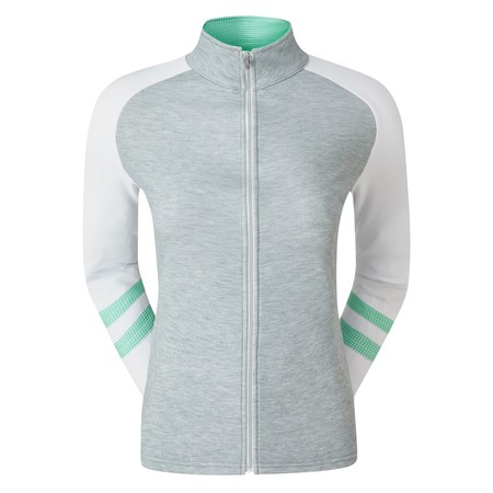 FootJoy Womens Full-Zip Raglan Colour Block Midlayer