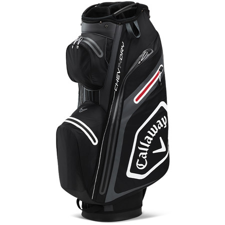 Callaway Chev Dry 14 Cart Bag Black/Charcoal