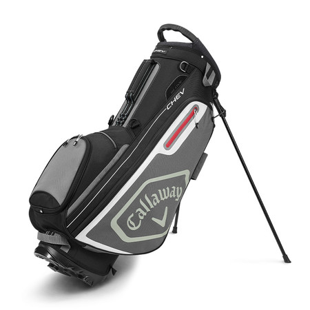 Callaway Chev Stand Bag Black/Charcoal