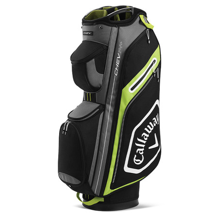 Callaway Chev 14+ Cart Bag Black/Yellow