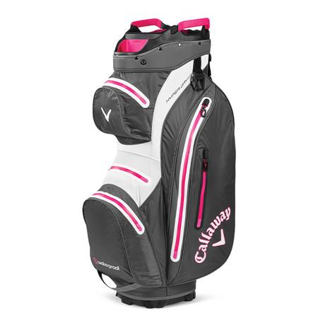 Callaway Hyper Dry 15 Cart Bag Charcoal/Pink
