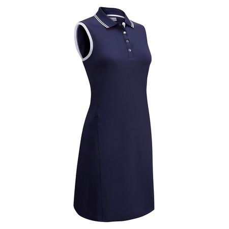 Callaway SL Solid Golf Dress W/ Ribbed + Tipping