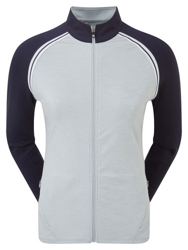 Footjoy French Terry Full Zip Colour Block