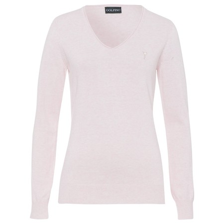 Golfino Soft cotton melange V-neck