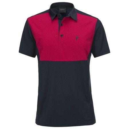 Peak Performance Men's Golf Race Tour Polo