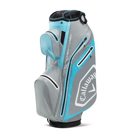 Callaway Chev Dry 14 Cart Bag Silver/Lite Blue