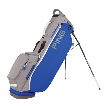 Ping Hoofer Lite Stand Bag Royal Silver White