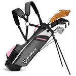 Taylormade RORY 8+ Pink Kids Set