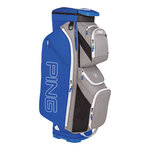 Ping Traverse Cart Bag Silver Royal White